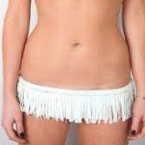 Chloe Rose Swimwear Swim - NWT Chloe Rose Fringe Bikini Bottoms